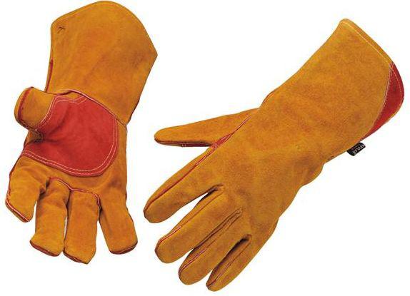 Welding Gauntlets Kevlar Reinforced sewn